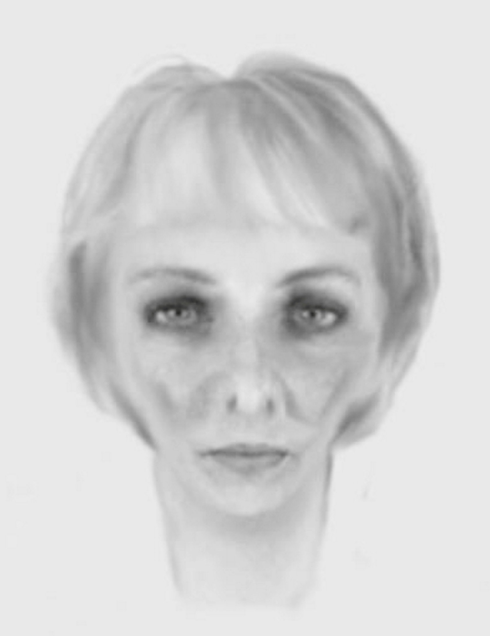 A sketch of a burglar released by police which hundreds of social media users are saying could be E.T. See SWNS story SWMDet. The e-fit of the woman was released by Staffordshire Police as part of an appeal to track down four burglary suspects. Two women and two men forced their way into a home on Richard Cooper Road in Shenstone, Lichfield, just before 9pm on January 3. Cash and electronic equipment was stole before the four offenders made off from the scene in an Audi.