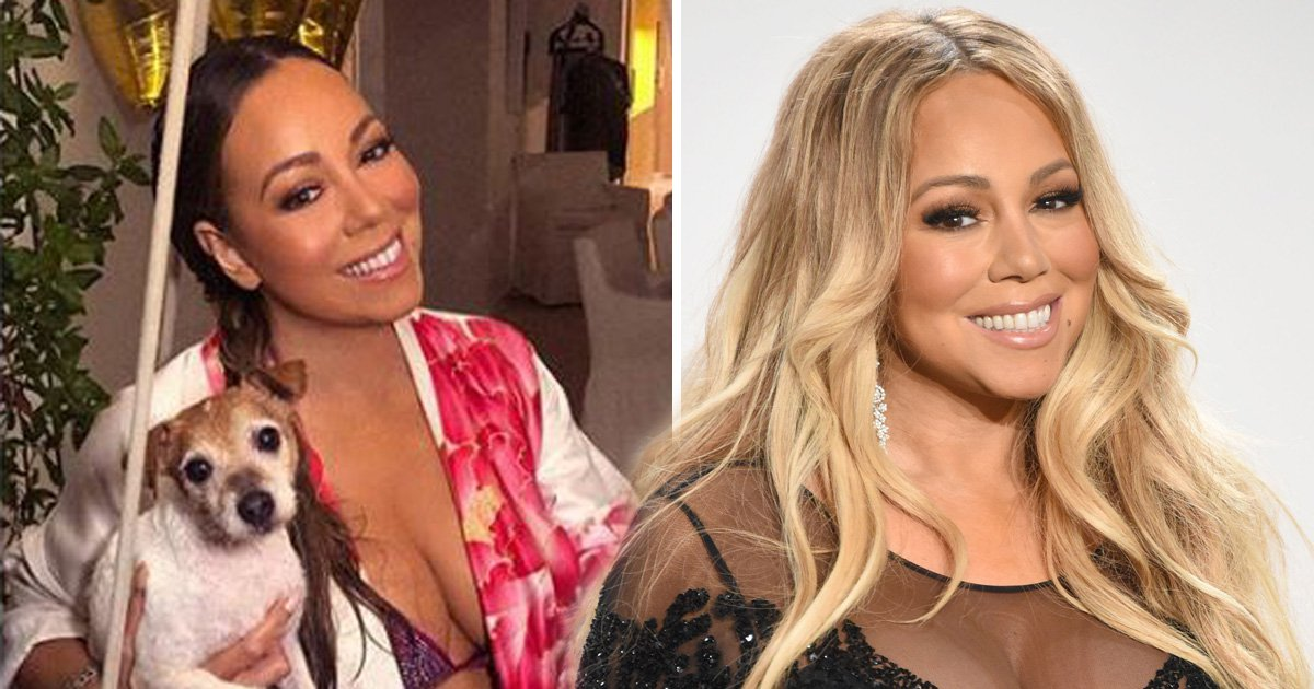 To everyone who's doing the '10 year challenge', don't bother – Mariah Carey has owned you all