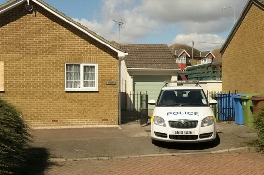 FILE PHOTO - GV of the scene at Mark Packman?s home in Kemsley, Kent. See National News story NNpact.A grief-stricken pensioner has been spared jailed for killing his dementia-sufferer wife in a failed suicide pact, due to his ?overwhelming guilt? for putting her in a care home.Relatives gasped in court as Michael Packman, 67, received a two-year suspended sentence for the manslaughter of his 64-year-old wife Stephanie.A judge said the ?exceptional circumstances? of the case required the court to show ?compassion? after hearing Stephanie made her husband promise not to put her in a home if she lost the ability to recognise her - but to help end her life instead.He twice stabbed himself in the chest after cutting his wife of 36 years' throat at their home in Sittingbourne, Kent, on July 30 last year.