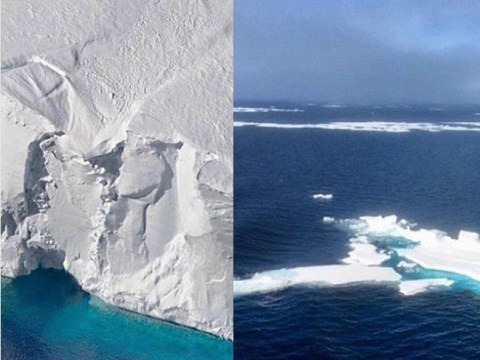 Melting glaciers show the real 10-year challenge