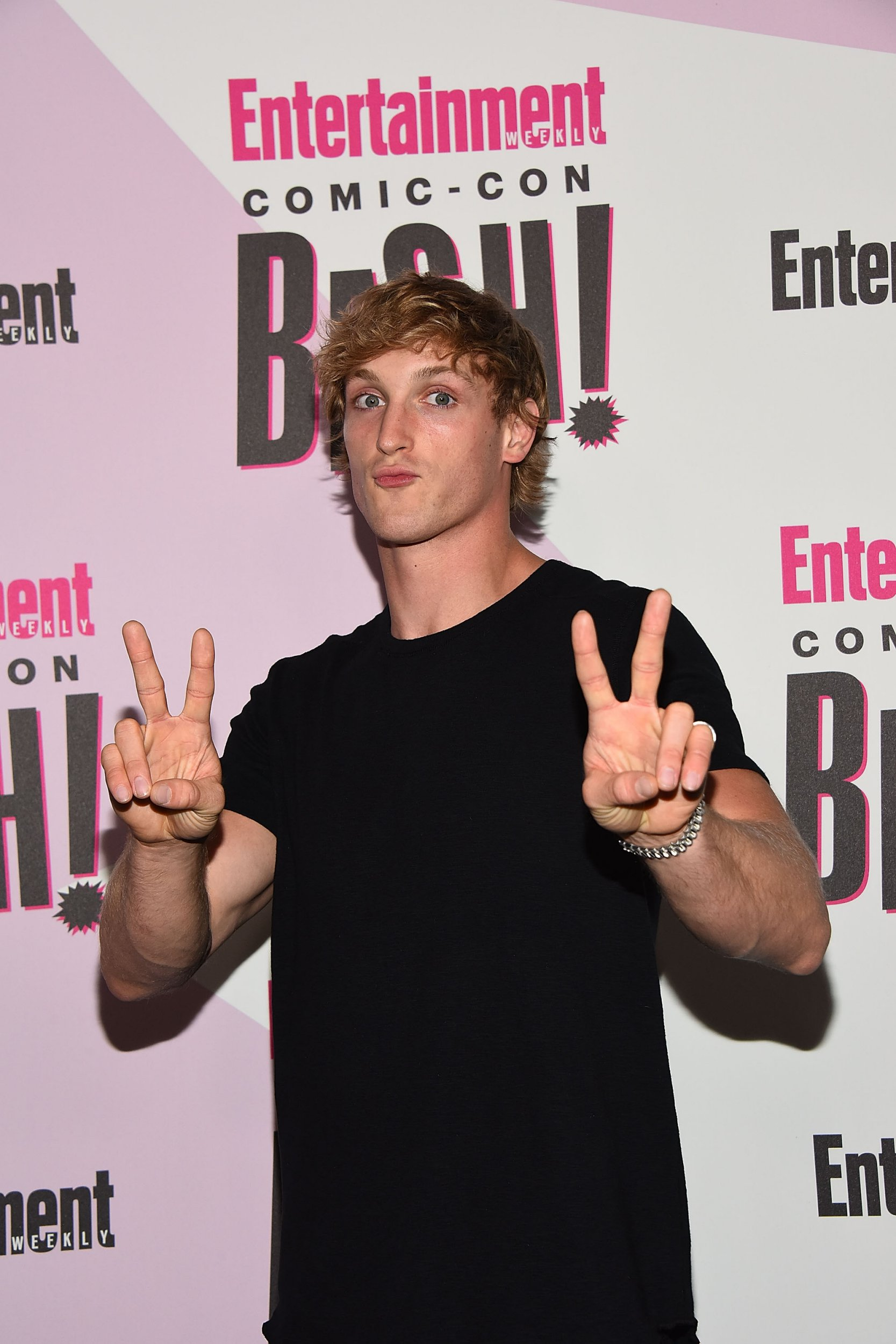 SAN DIEGO, CA - JULY 21: Logan Paul attends Entertainment Weekly's Comic-Con Bash held at FLOAT, Hard Rock Hotel San Diego on at Float at Hard Rock Hotel San Diego on July 21, 2018 in San Diego, California. (Photo by Araya Diaz/WireImage)