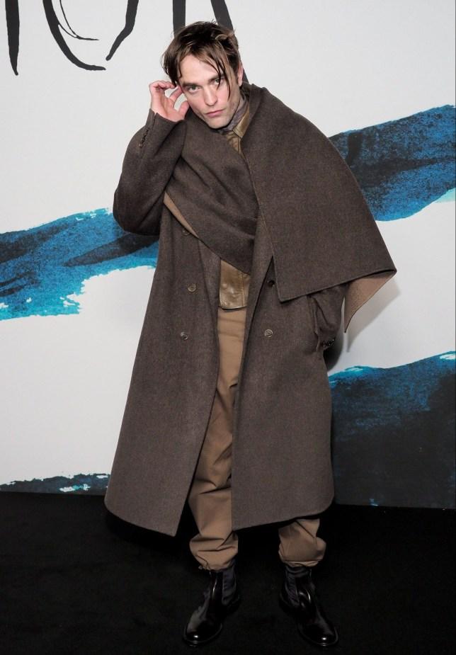 Mandatory Credit: Photo by Laurent Vu/SIPA/REX (10068136ag) Robert Pattinson Dior Homme show, Photocall, Fall Winter 2019, Paris Fashion Week Men's, France - 18 Jan 2019