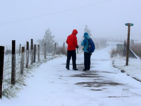 More snow across UK this week as temperatures plummet to -10°C