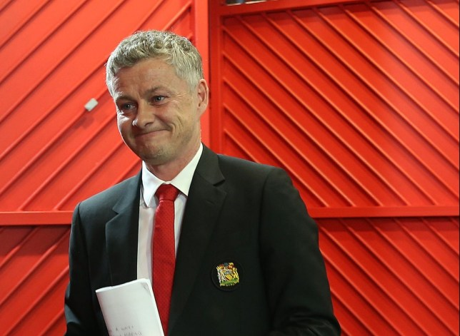 MANCHESTER, ENGLAND - JANUARY 19: Caretaker Manager Ole Gunnar Solskjaer of Manchester United arrives ahead of the Premier League match between Manchester United and Brighton & Hove Albion at Old Trafford on January 19, 2019 in Manchester, United Kingdom. (Photo by Matthew Peters/Man Utd via Getty Images)
