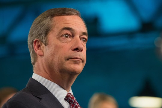 File photo dated 05/11/18 of former Ukip leader Nigel Farage who is reported to be considering a return to frontline politics. PRESS ASSOCIATION Photo. Issue date: Sunday January 20, 2019. The MEP for the South East was approached last week by former activists for Ukip who have applied to register the Brexit Party with the Electoral Commission. See PA story POLITICS Brexit Farage. Photo credit should read: Aaron Chown/PA Wire