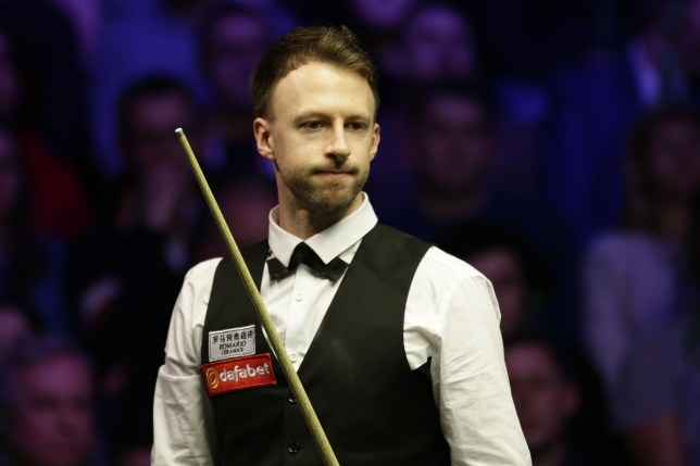 LONDON, ENGLAND - JANUARY 19: Judd Trump of England reacts during his semi-final match against Neil Robertson of Australia on day 7 of the 2019 Dafabet Masters at Alexandra Palace on January 19, 2019 in London, England. (Photo by Tai Chengzhe/VCG via Getty Images)