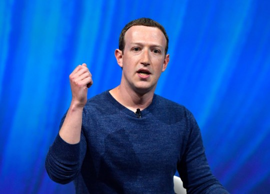 Facebook's CEO Mark Zuckerberg delivers his speech during the VivaTech (Viva Technology) trade fair in Paris, on May 24, 2018. (Photo by GERARD JULIEN / AFP) (Photo credit should read GERARD JULIEN/AFP/Getty Images)