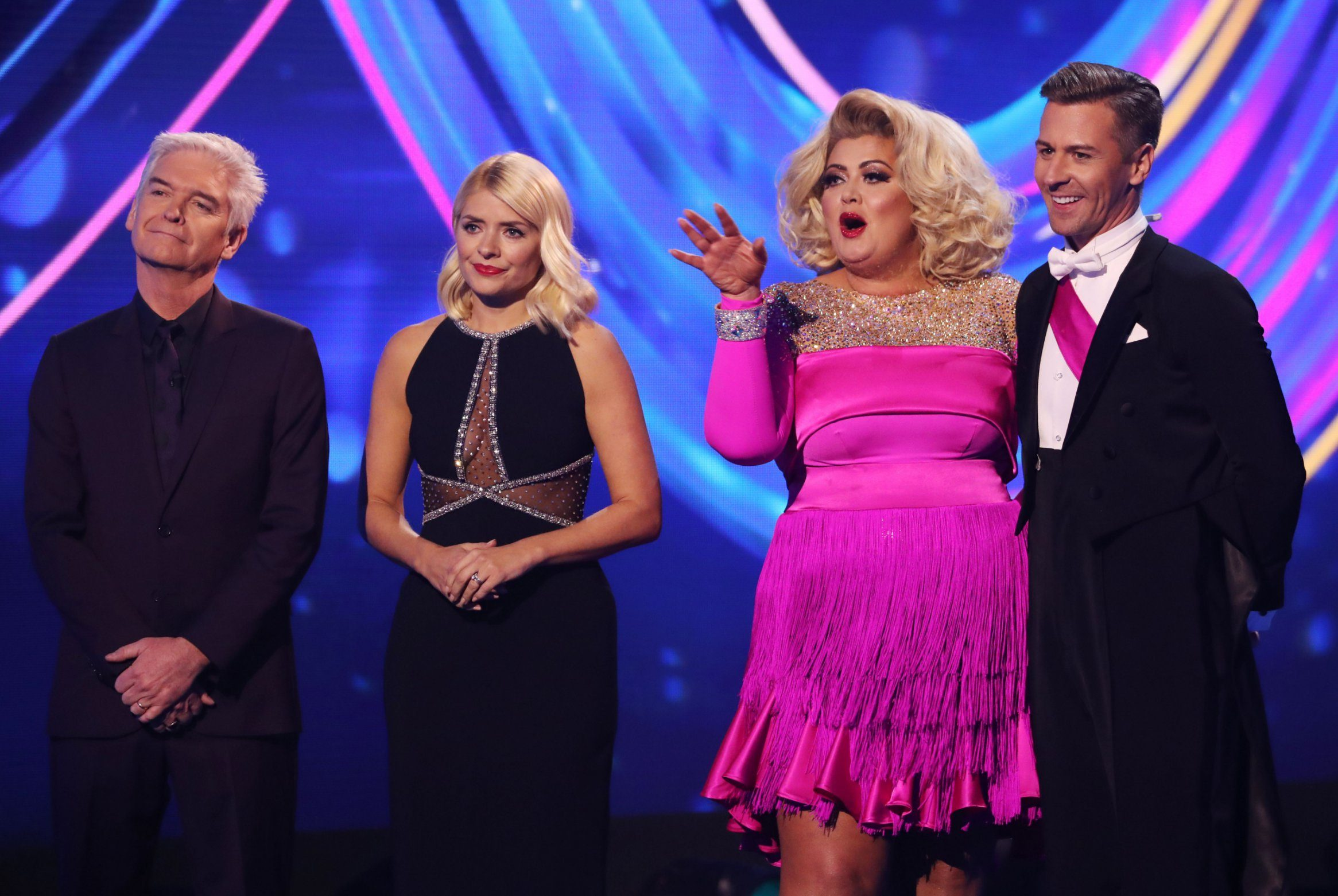 Gemma Collins returns to Dancing On Ice group chat after Jason Gardiner row