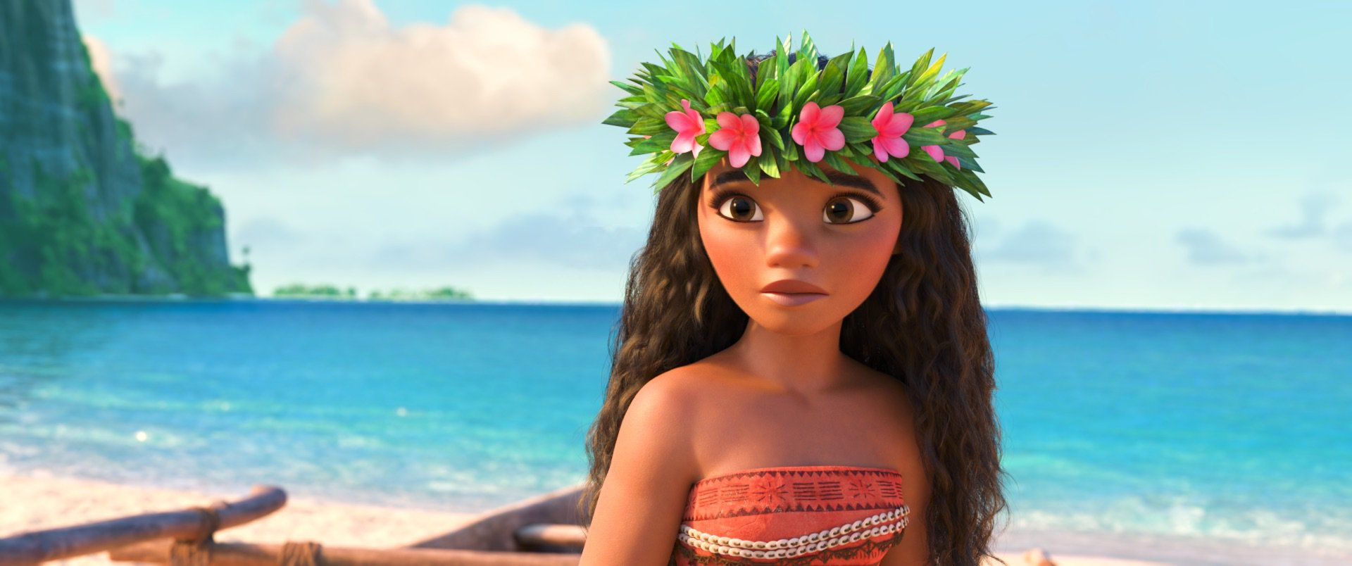 Editorial use only. No book cover usage. Mandatory Credit: Photo by Disney/Kobal/REX/Shutterstock (7675391f) Moana (voice of Auli'i Cravalho) 'MOANA' Film - 2016 Directed by the filmmaking team of Ron Clements and John Musker, produced by Osnat Shurer, and featuring music by Lin-Manuel Miranda, Mark Mancina and Opetaia Foa'i