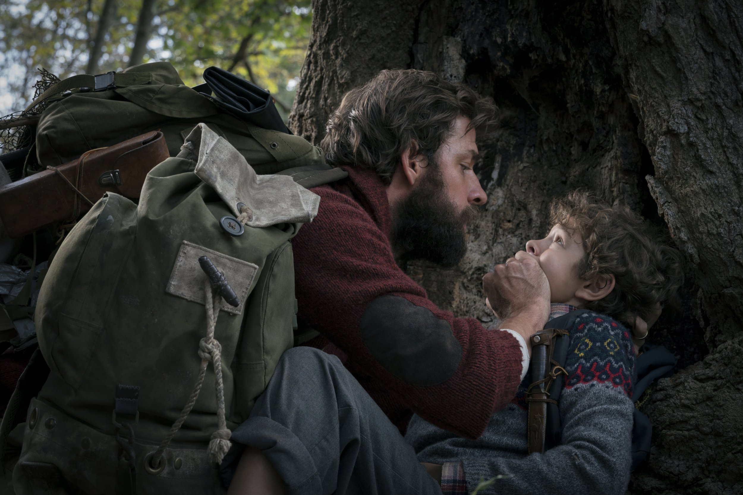 In the modern horror thriller A QUIET PLACE, a family of four must navigate their lives in silence after mysterious creatures that hunt by sound threaten their survival. If they hear you, they hunt you.