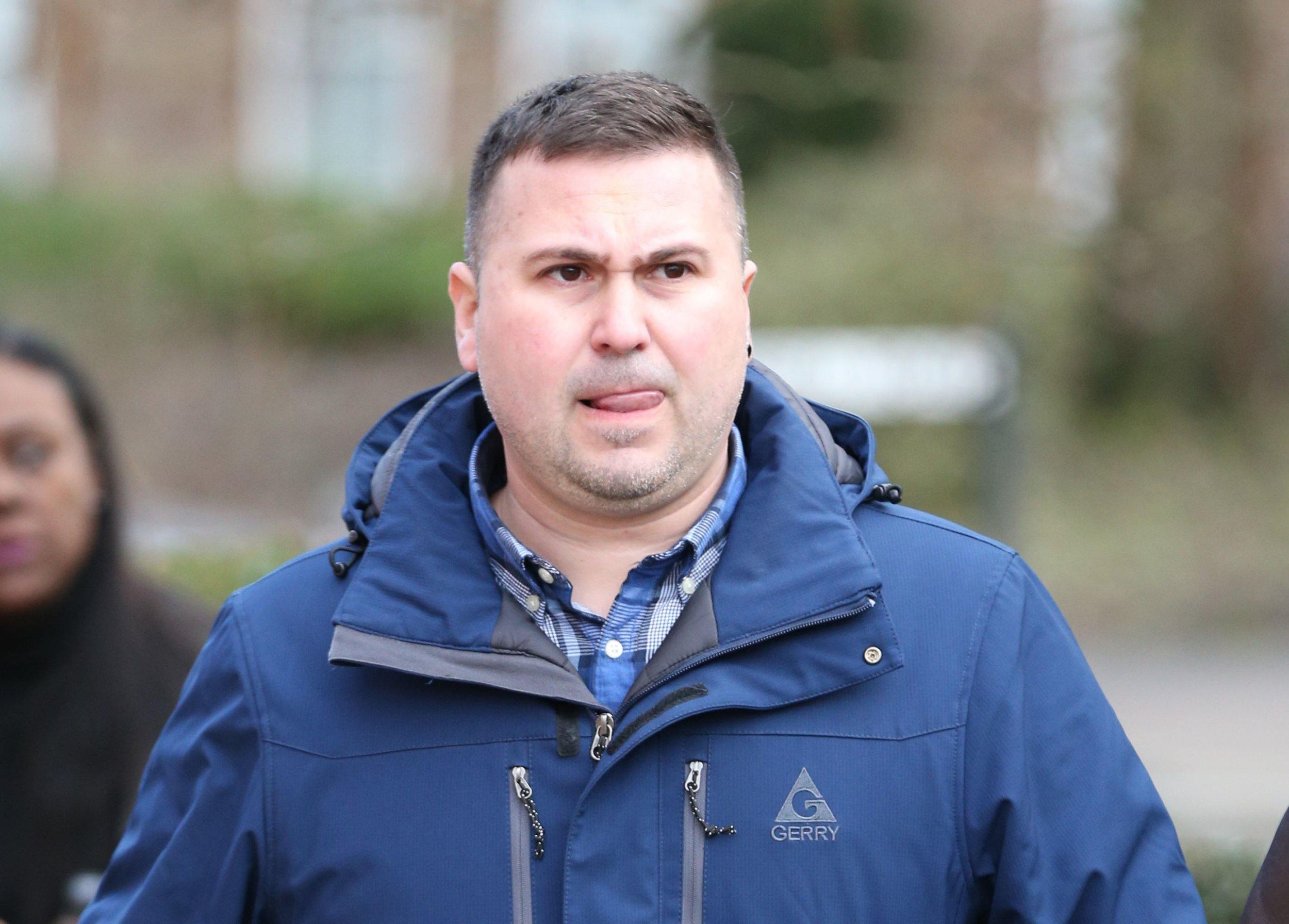 George Rusu, 38, arrives at Uxbridge Magistrates' Court, London, where he is charged with flying a drone near to Heathrow's runway without permission of air traffic control on Christmas Eve last year. PRESS ASSOCIATION Photo. Picture date: Tuesday January 22, 2019. See PA story COURTS Drone. Photo credit should read: Jonathan Brady/PA Wire