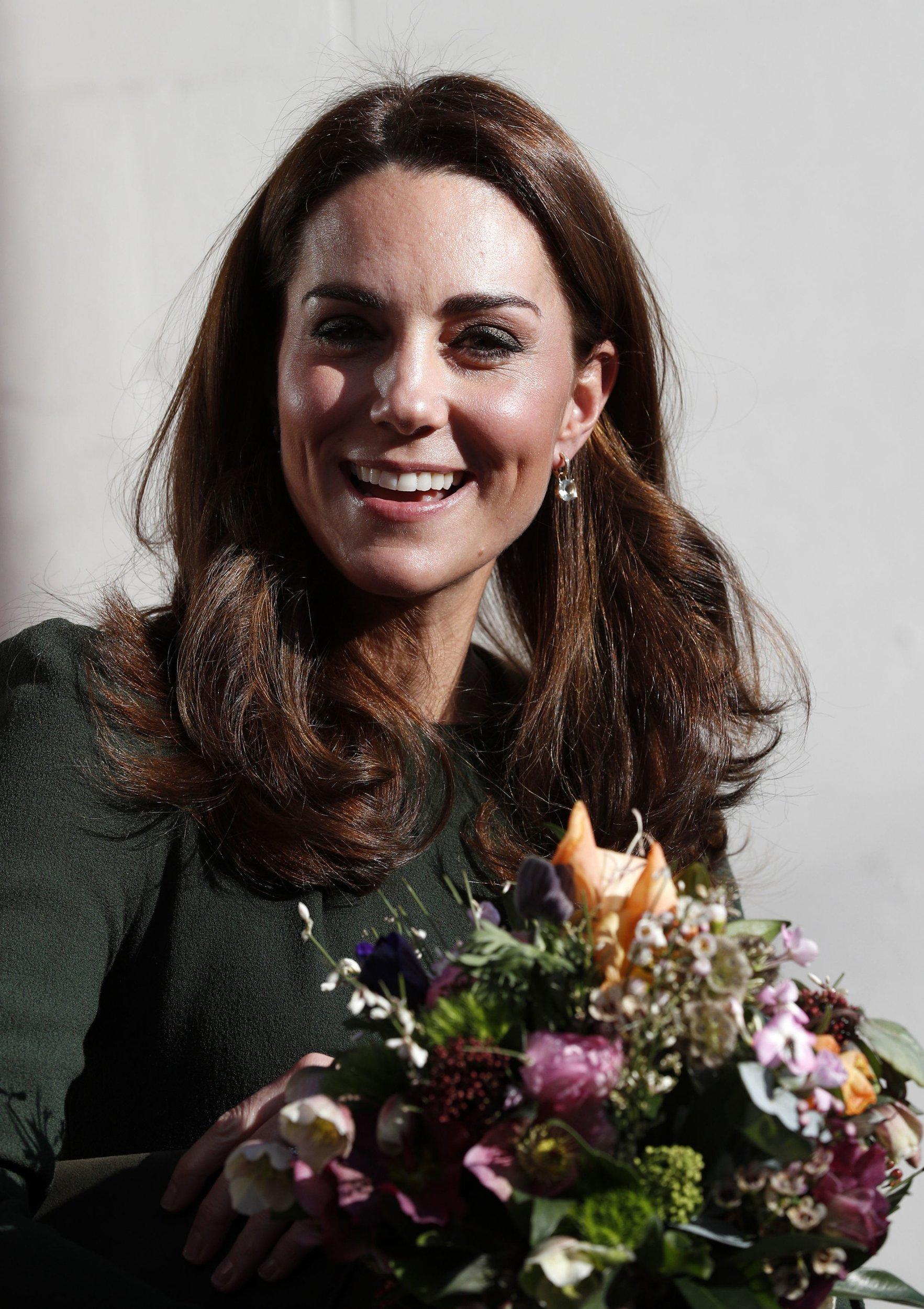 The Duchess of Cambridge leaves after a visit to Family Action charity?s Lewisham base in Forest Hill, Lewisham, London, where she will meet with families, young carers and the volunteers. PRESS ASSOCIATION Photo. Picture date: Tuesday January 22, 2019. See PA story ROYAL Kate. Photo credit should read: Adrian Dennis/PA Wire