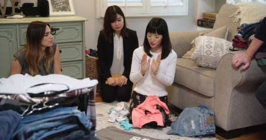 TIDYING UP WITH MARIE KONDO - PRODUCTION STILLS