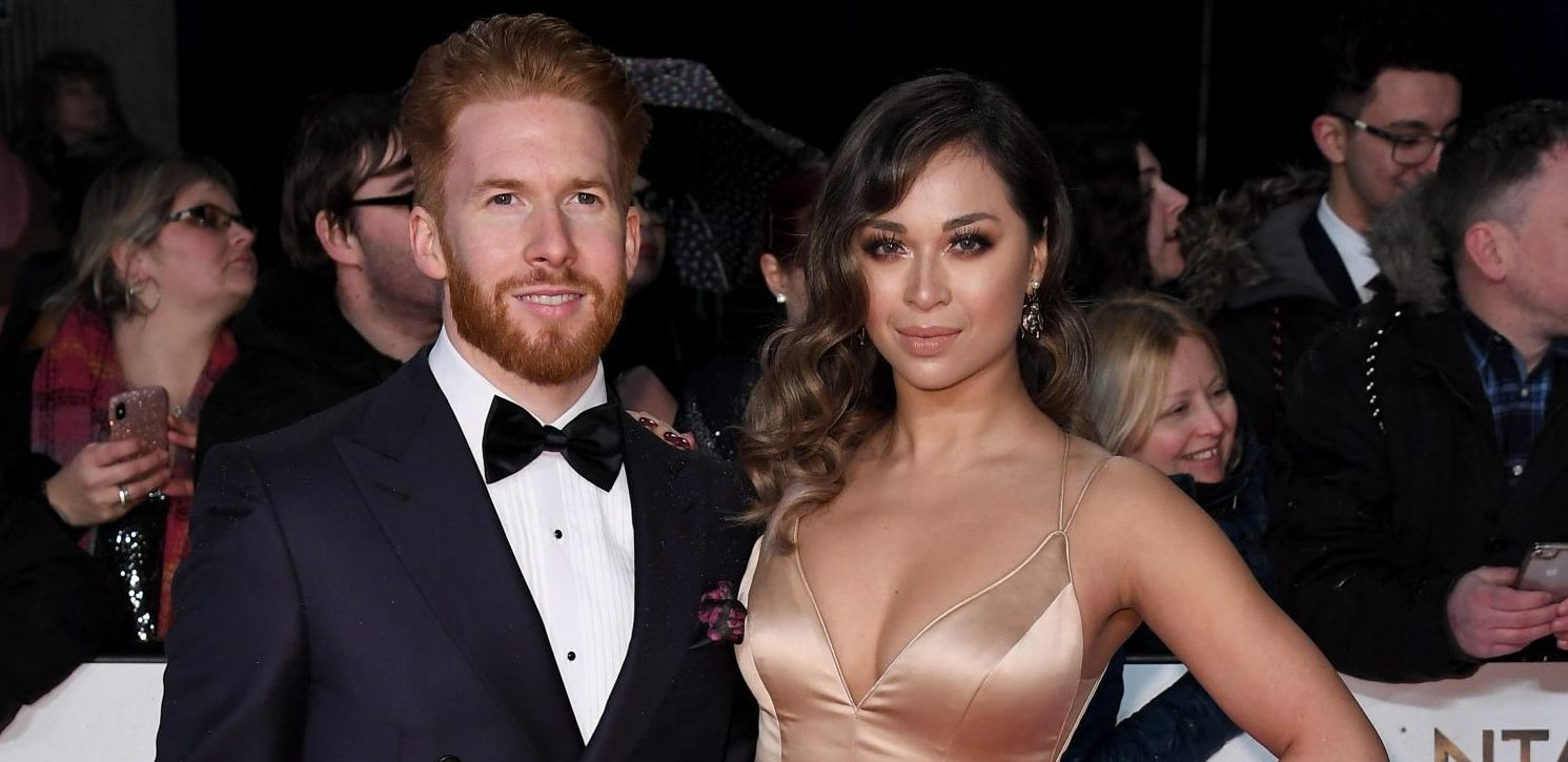 Mandatory Credit: Photo by Anthony Harvey/REX (10069667de) Neil Jones and Katya Jones 23rd National Television Awards, Arrivals, O2, London, UK - 22 Jan 2019