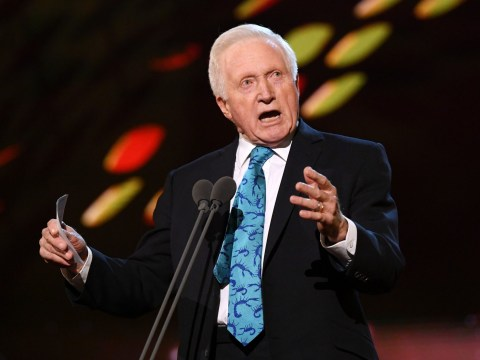 David Dimbleby branded the 'ultimate troll' as he praises BBC on ITV's National Television Awards
