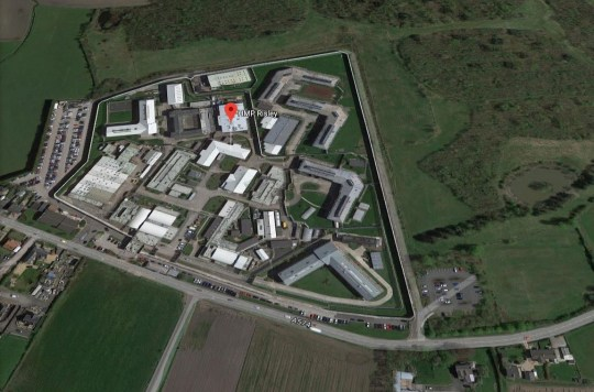 Murder probe after prisoner dies in jail Ariel view of HMP Risley Provider: Google Map Source: https://www.google.com/maps/place/HMP+Risley/@53.4376921,-2.5320412,473a,35y,90h,44.91t/data=!3m1!1e3!4m5!3m4!1s0x487b072d0dd58f8d:0x8225ffc12bf6a3da!8m2!3d53.4381495!4d-2.5237709