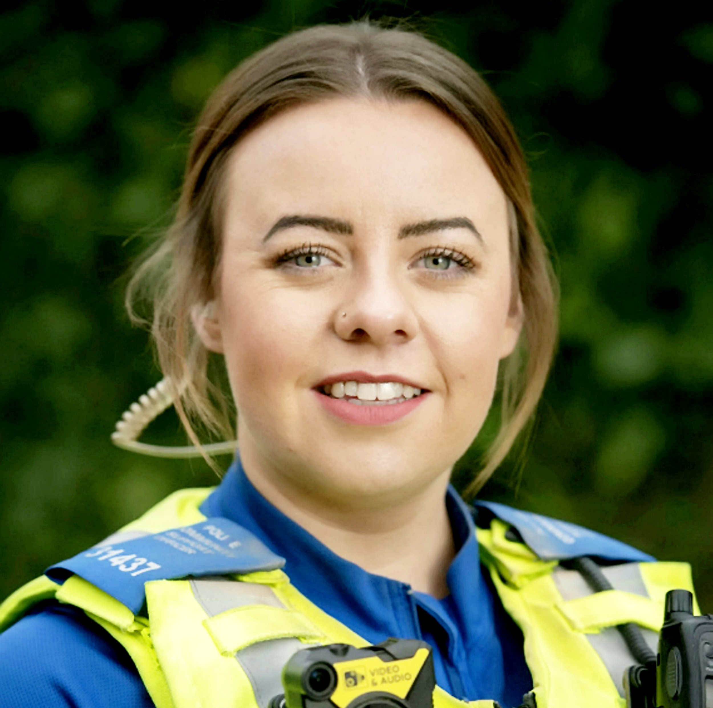 Holly Burke. A woman who died in a collision in Bearwood last night has been named as Holly Burke, a serving West Midlands Police Community Support Officer (PCSO). See SWNS story SWMDcrash. Holly, aged 28, was based at Nechells as part of the Washwood Heath neighbourhood team and had been a PCSO for 14 months. The collision occurred on Lordswood Road at the junction with Hagley Road at 11.30pm. A speeding Renault Scenic had failed to stop for officers. They pursued the car for 15 minutes until a stinger was deployed on Bearwood Road, however the Renault continued at speed and collided with Holly?s car. Despite the best efforts of police and medical professionals, Holly sadly died at the scene. Her family has been informed and are being supported at this time. The 42-year-old driver of the Renault was arrested on suspicion of death by dangerous driving and driving under the influence of drugs. He remains in police custody.
