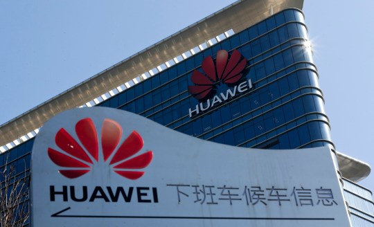 FILE - This Tuesday, Dec. 18, 2018 file photo, shows the Huawei office building at its research and development centre at Dongguan in south China's Guangdong province. The charity founded by Britain???s Prince Charles, The Prince???s Trust, said in a statement Thursday Jan. 24, 2019, it???s not accepting any more donations from Huawei, the latest setback for the Chinese telecom giant as it battles allegations it???s a cybersecurity risk. (AP Photo/Andy Wong, File)