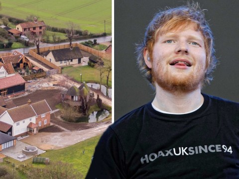 Fire crews called to Ed Sheeran's £1.5million estate in Suffolk after blaze breaks out