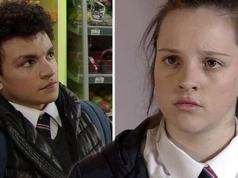 What will Tyler do next over pregnant Amy Barlow in Coronation Street?