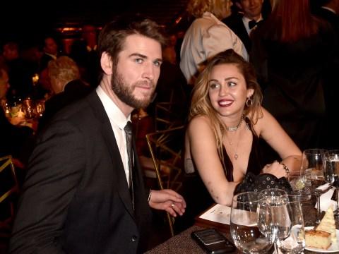 Miley Cyrus shares cheeky message about husband Liam Hemsworth as he recovers in hospital: 'Getting sick blows'