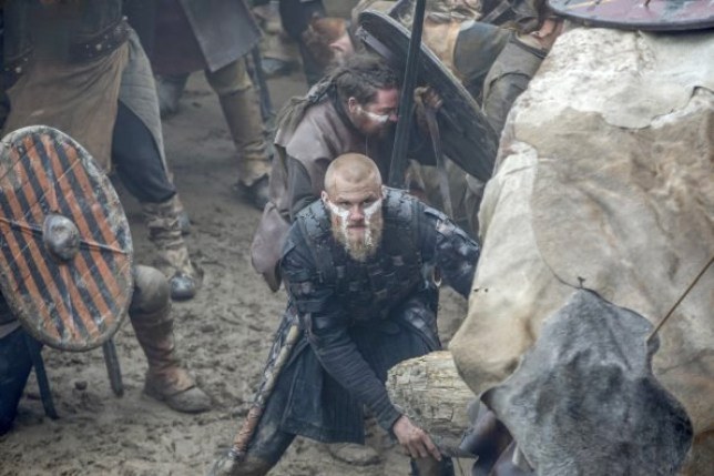 Vikings 5B finale pictures tease Bjorn will die a hero as he's seen defenseless in battle