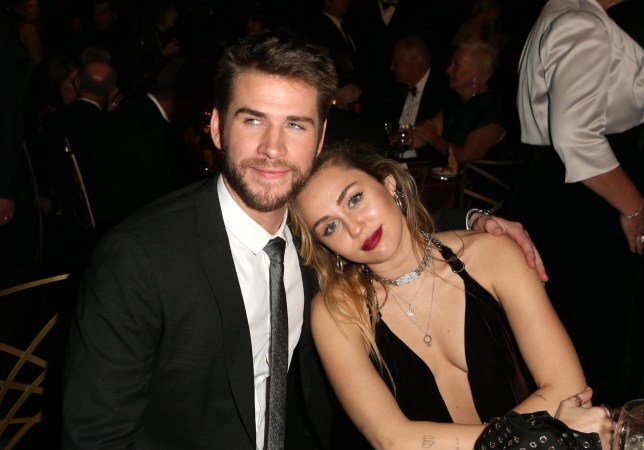 156180630 Liam Hemsworth cries over wife Miley Cyrus taking his surname ...
