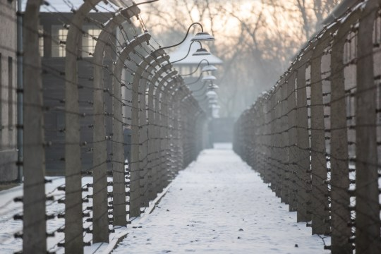 epa07323758 A view on the former Nazi-German concentration and death camp KL Auschwitz-Birkenau before ceremonies marking the 74th anniversary of the liberation of Auschwitz-Birkenau, in Oswiecim, Poland, 27 January 2019. The biggest German Nazi death camp KL Auschwitz-Birkenau was liberated by the Soviet Red Army on 27 January 1945. The world commemorates its liberation by International Holocaust Remembrance Day annually on 27 January. EPA/LUKASZ GAGULSKI POLAND OUT