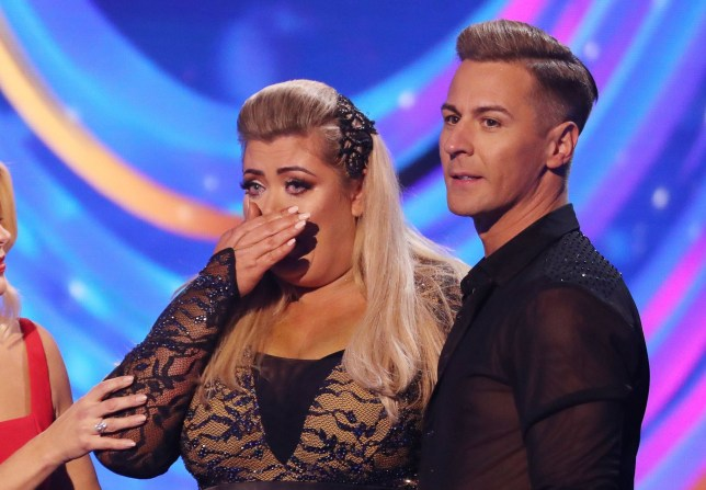 Editorial use only Mandatory Credit: Photo by Matt Frost/ITV/REX (10073862cp) Gemma Collins and Matt Evers 'Dancing on Ice' TV show, Series 11, Episode 4, Hertfordshire, UK - 27 Jan 2019