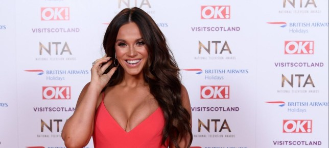 Mandatory Credit: Photo by David Fisher/REX/Shutterstock (10069666fs) Vicky Pattison 23rd National Television Awards, Arrivals, O2, London, UK - 22 Jan 2019
