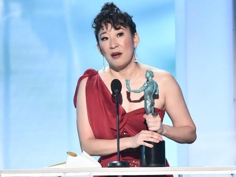 Screen Actors Guild Awards: Sandra Oh breaks down in tears over Killing Eve win