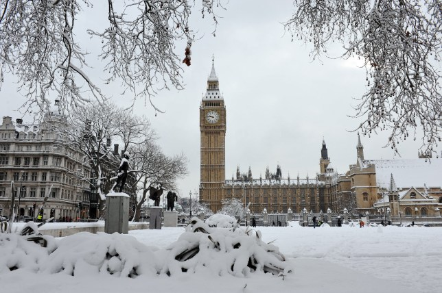 A White Christmas in London