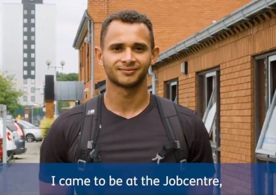 Picture: Universal Credit DWP uses an actor to promote 'success' of Universal Credit