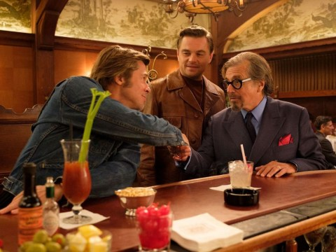 What films have Brad Pitt and Leonardo DiCaprio starred in together before Once Upon A Time In Hollywood?