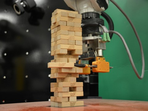 Scientists taught a robot to play Jenga and it's a towering achievement
