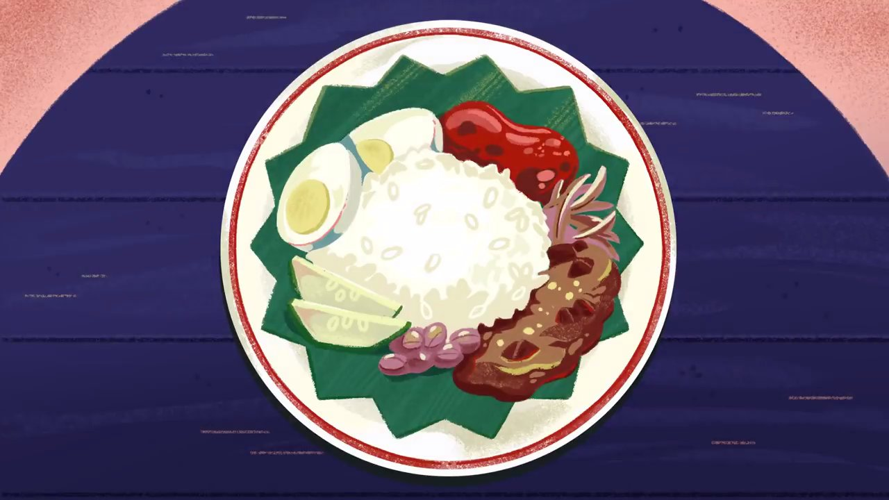 What is Nasi Lemak and why is it today's Google Doodle?