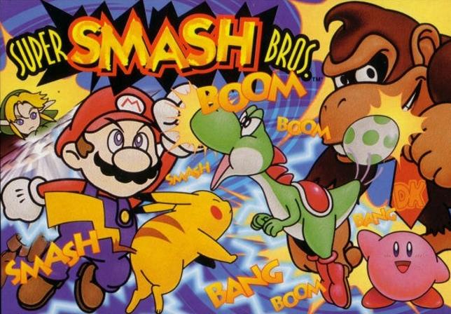 Super Smash Bros. - how far it's come