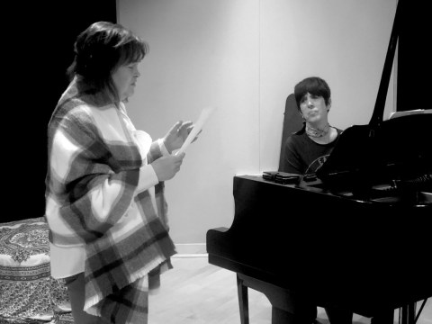 Susan Boyle hints at surprise duet as America's Got Talent: The Champions star sings with Diane Warren