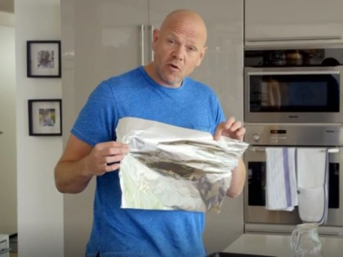 Tom Kerridge reveals you've been using tin foil the wrong way round your whole life and obviously people are shook