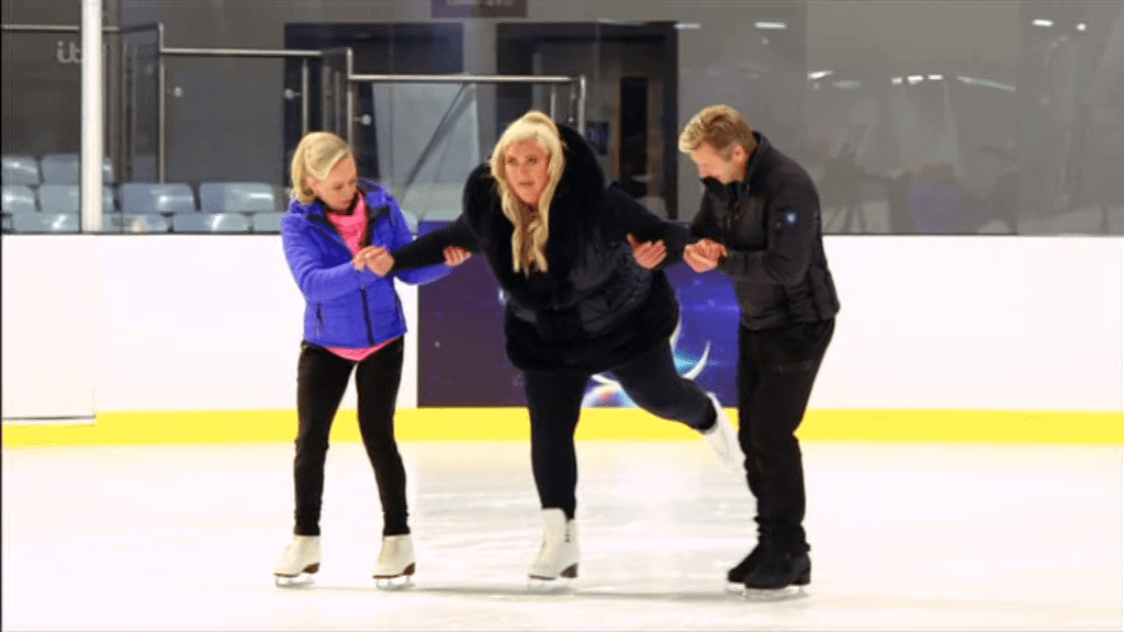 Gemma Collins needs 'extra lessons' on Dancing On Ice (Picture: ITV)