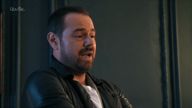 Could Danny Dyer be popping up on Love Island? (Picture: ITV)