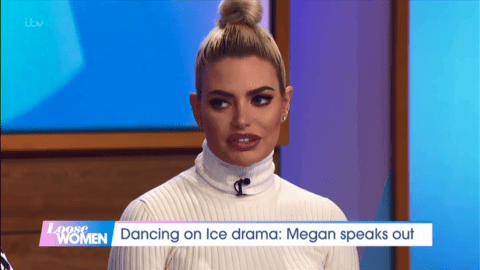 Megan Barton-Hanson admits she feels like she's 'losing' Wes to Dancing on Ice amid Vanessa Bauer feud