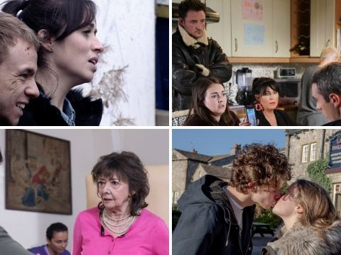12 soap spoiler pictures: Corrie knife twist, EastEnders cancer shock, Emmerdale sex scandal, Hollyoaks truth trauma