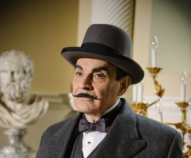 Television Programme: Agatha Christie's Poirot with David Suchet as Hercule Poirot. POIROT THE BIG FOUR David Suchet returns as Hercule Poirot in the Big Four. Pictured :DAVID SUCHET as Hercule Poirot. This image is the copyright of ITV and may only be used in relation to Poirot. The image is for one use early, any further use must be cleared through the ITV Picture Desk.