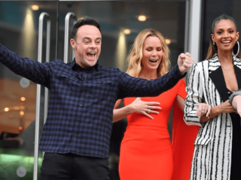 Ant McPartlin cheering as Britain's Got Talent squad arrive at auditions is giving us life