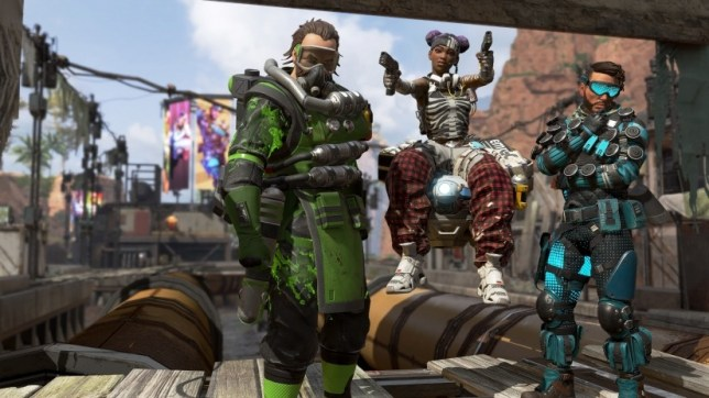 Characters in Apex Legends
