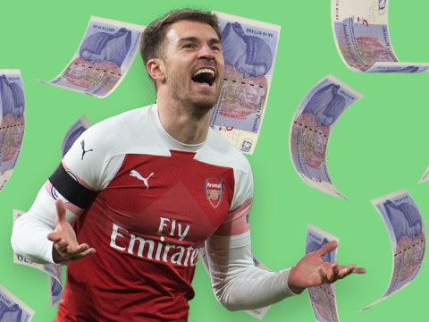 How long would you have to work to make as much money as Aaron Ramsey will earn in a month?