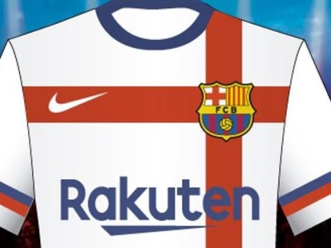 Barcelona reject new Nike kit design because they don't want to wear Real Madrid white