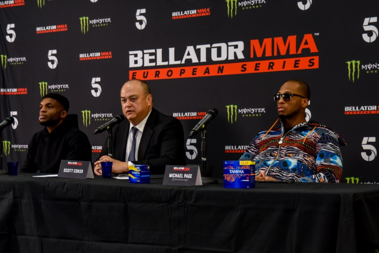 Bellator Press conference with Paul Daley, Scott Coker and Michael Venom Page-33aa