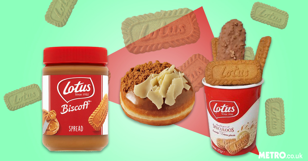 Biscoff products you can buy in the UK